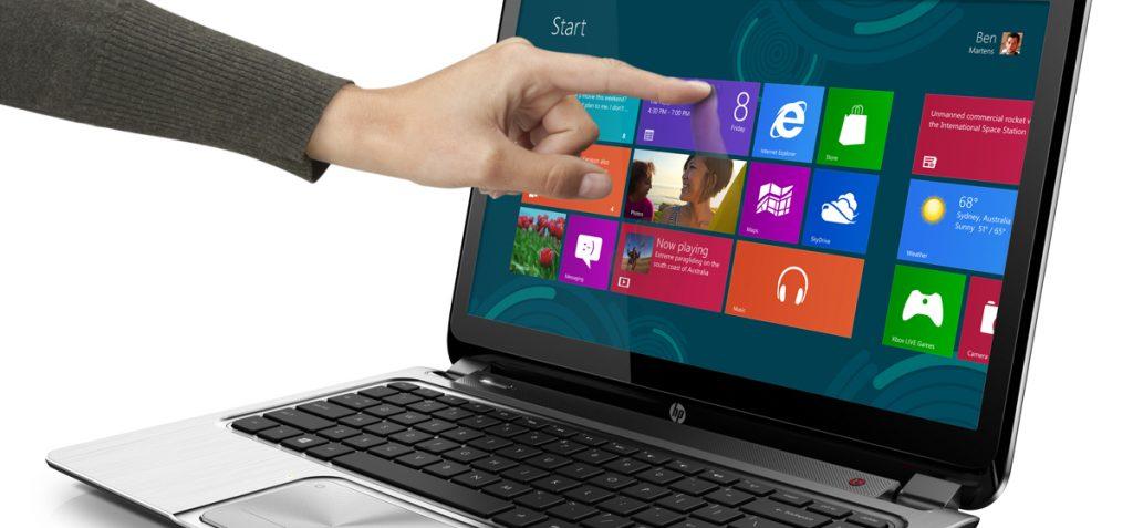 Computer con touch screen